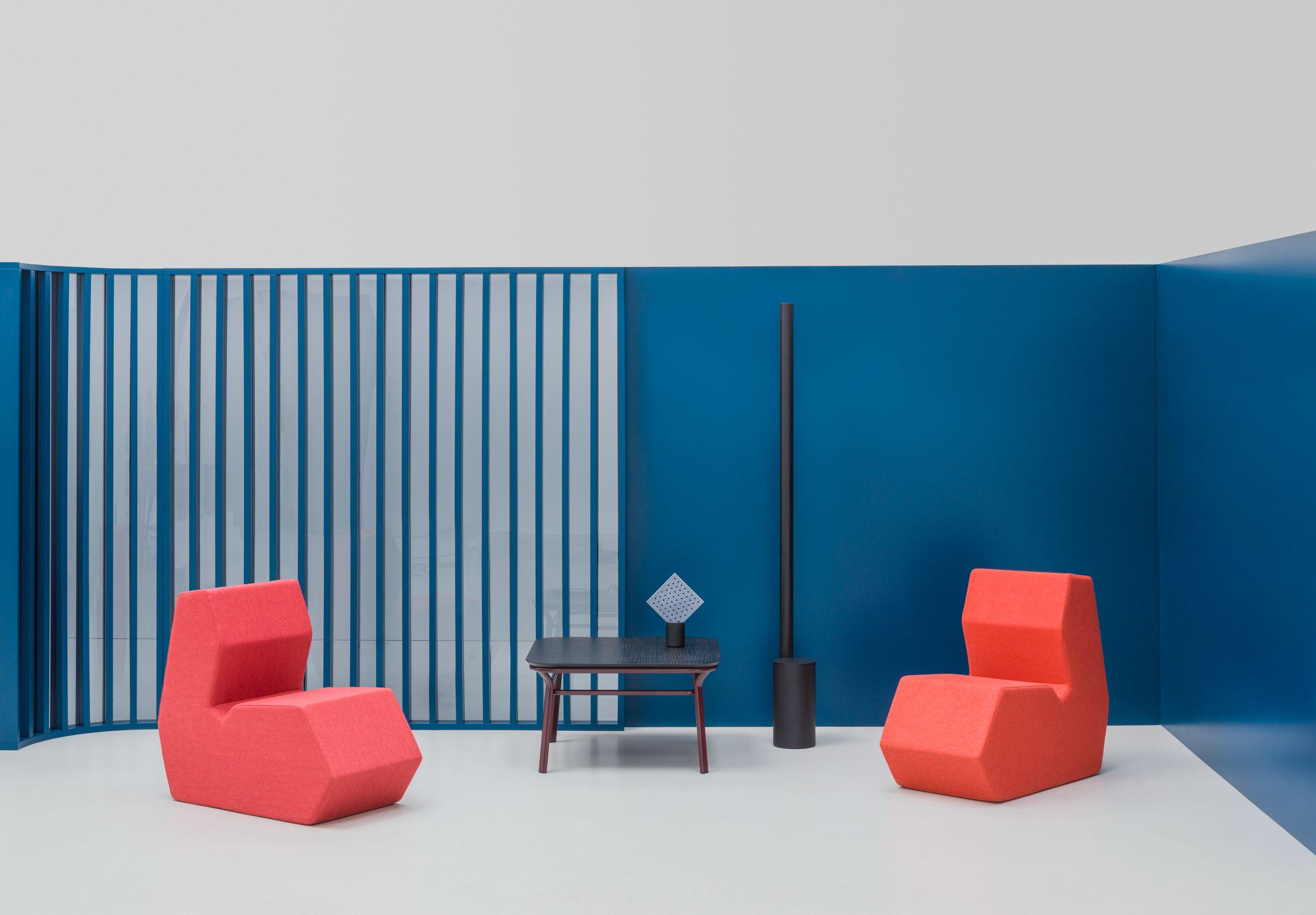 empfangstheken hochglanz lounge wartebereich kantig