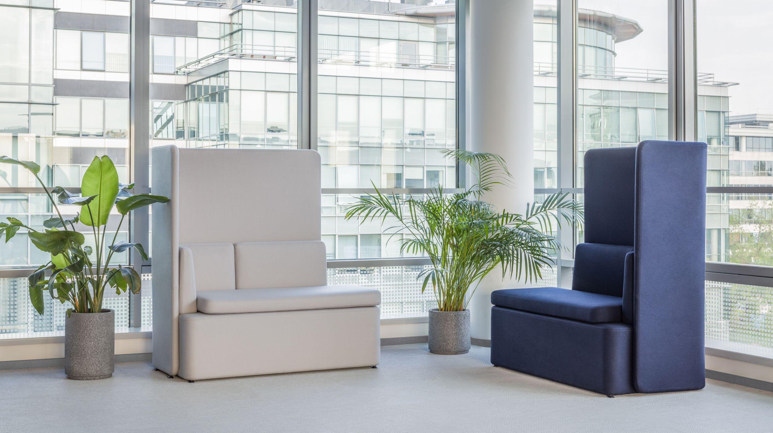 empfangstheken hochglanz lounge wartebereich lang groß kantig
