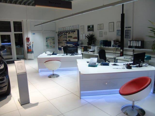 empfangstheken referenzen Autohaus Fiat in Werdau 2