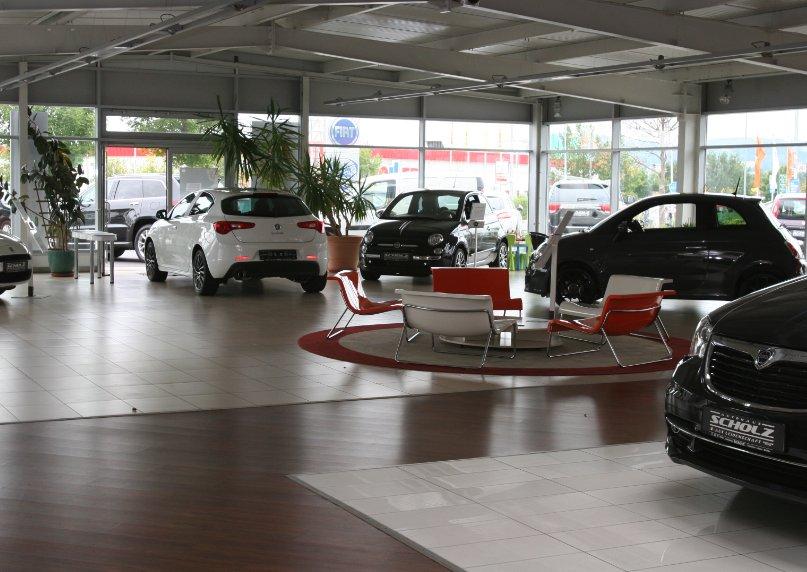 empfangstheken referenzen Autohaus Scholz in Bautzen