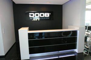 empfangstheken referenzen DOOB 3D STORE DUESSELDORF