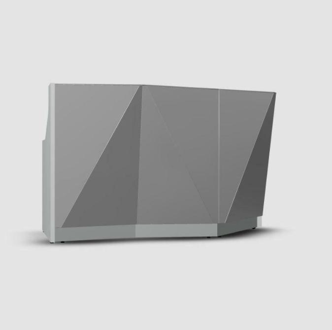 empfangstheken guenstig museum hochglanz grau konfiguration