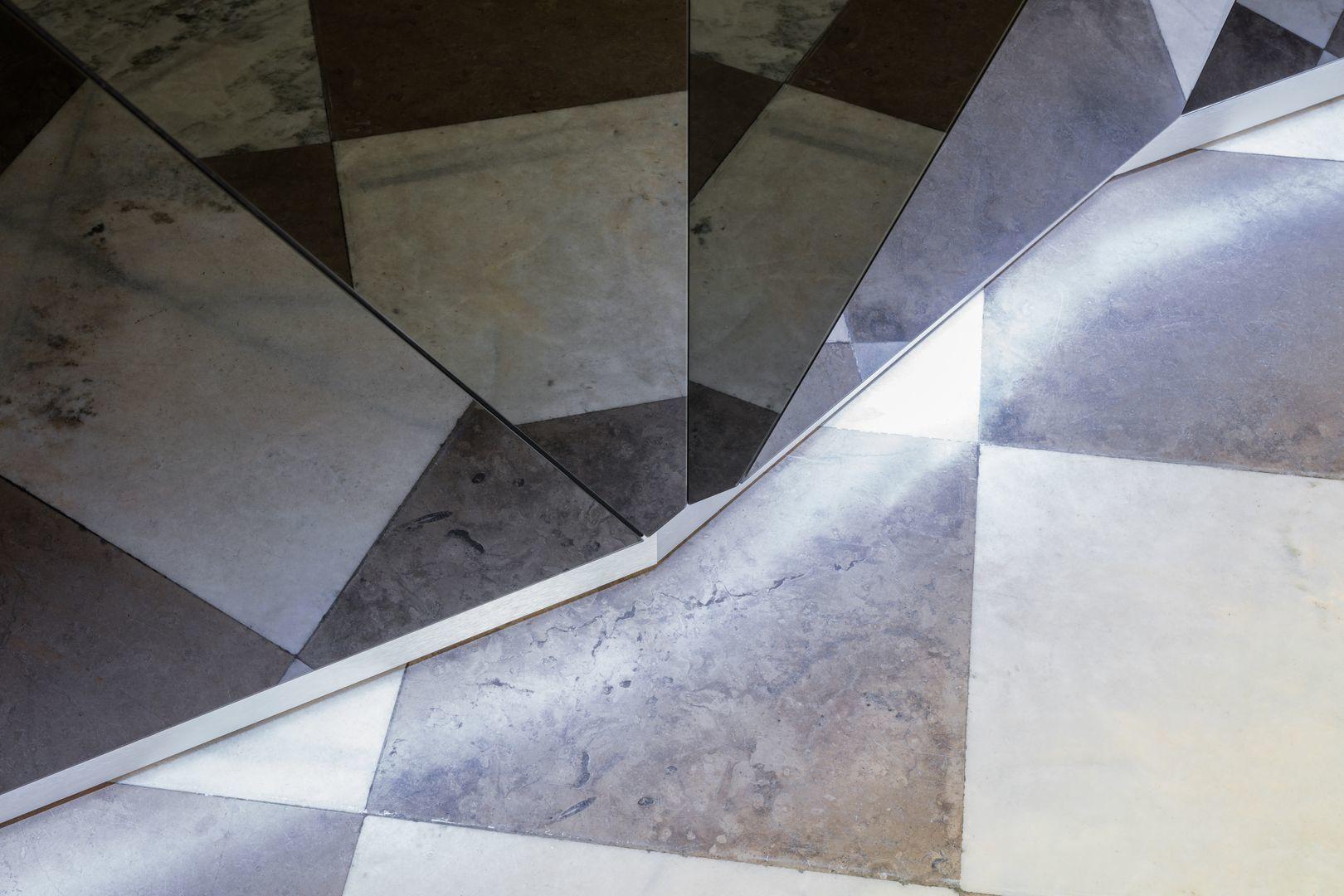 empfangstheken guenstig museum hochglanz schwarz musuem details