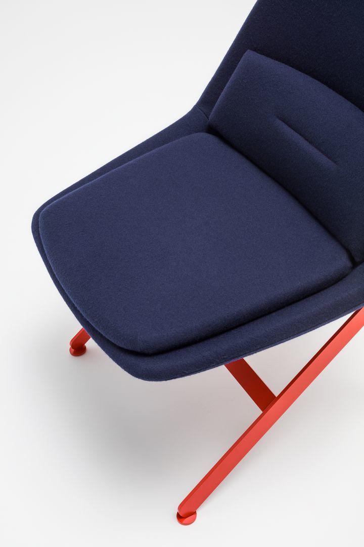 empfangstheken sitzmoebel kanzleisitzmoebel einzelstuhl blau rot details
