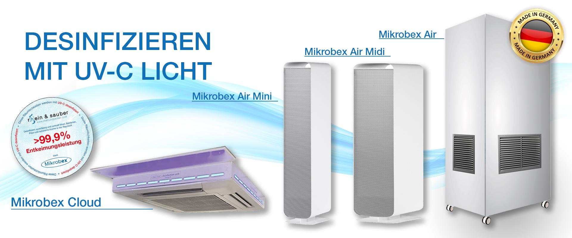 Rhein und Sauber Mikrobex Banner